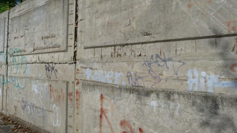 Odstránenie grafitov vo výške Martin
